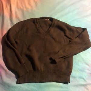 Devaux Fils - Urban Outfitters Olive Green Sweater